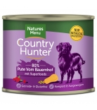 Natures Menu Country Hunter Pute vom Bauernhof 600g