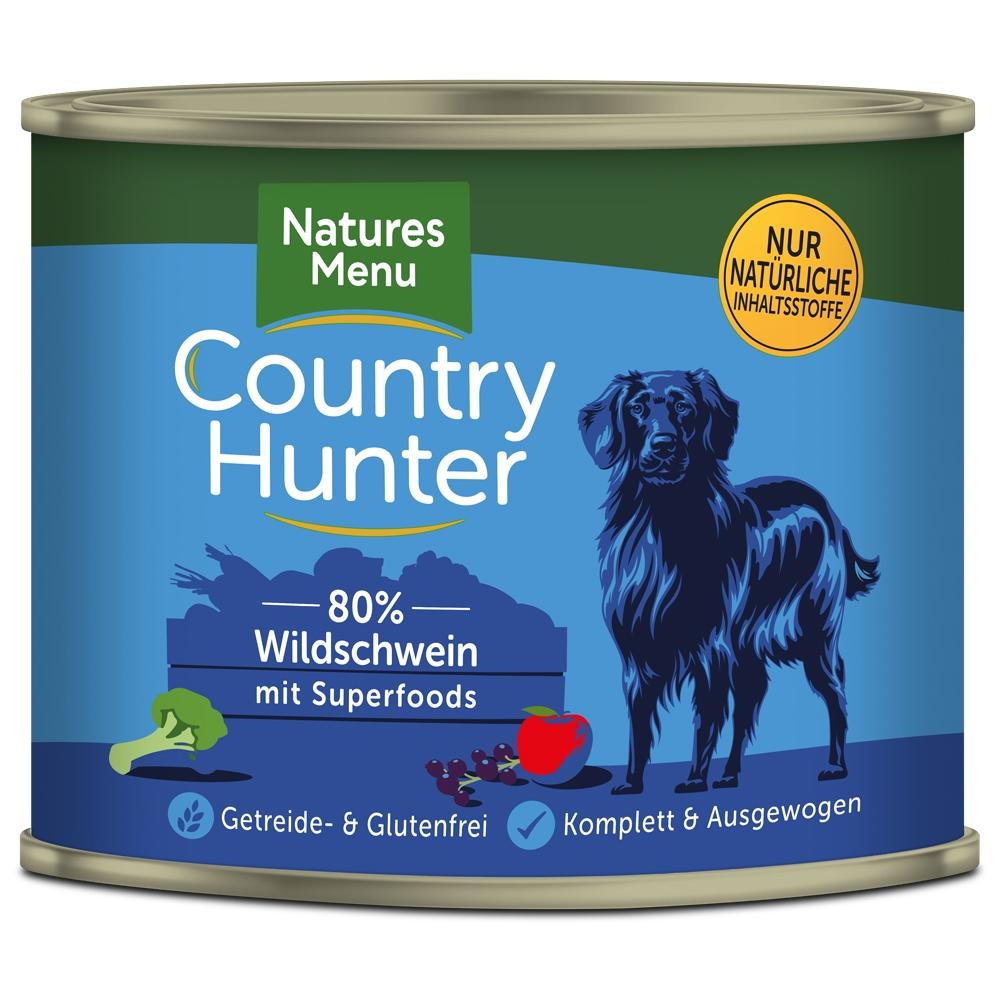 Natures Menu Country Hunter Feinstes Wildschwein 600g