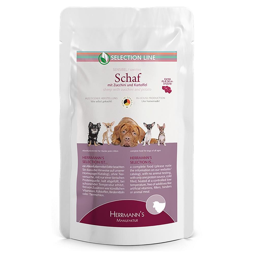 Herrmann's Dog Selection Schaf mit Zucchini & Kartoffeln 150g