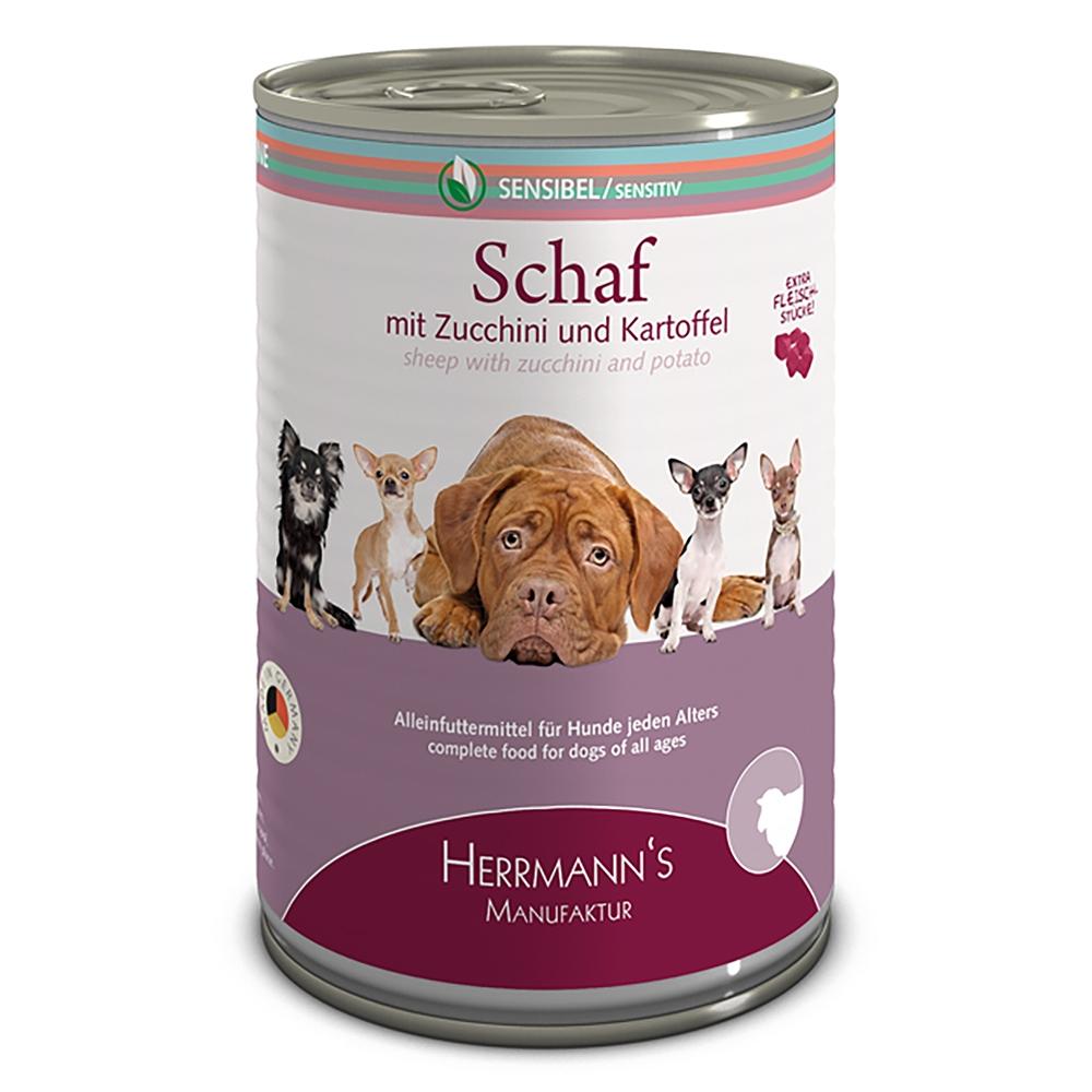 Herrmann's Dog Selection Schaf mit Zucchini & Kartoffeln