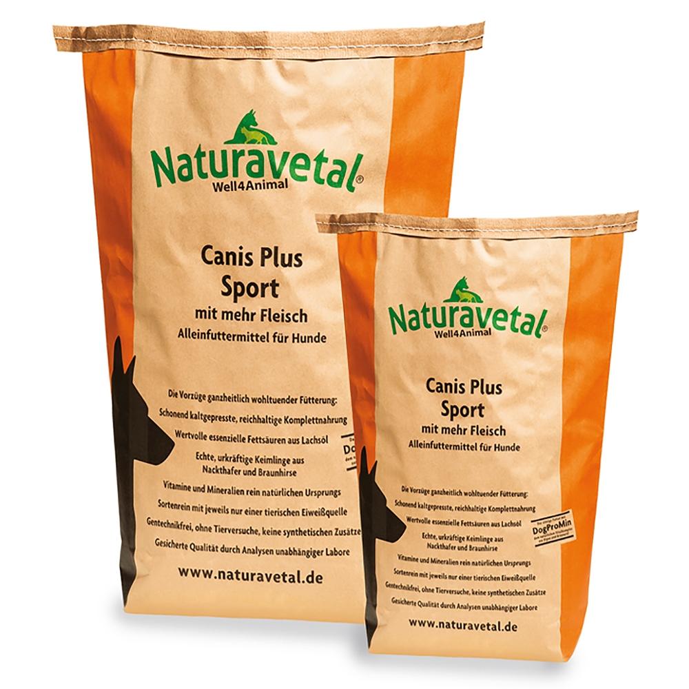 Naturavetal Canis Plus Adult Sport 15kg