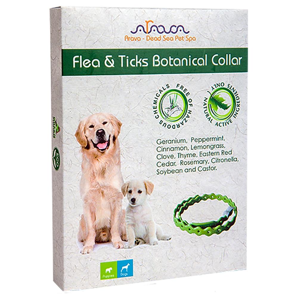 Arava Dog Halsband Flöhe, Zecken & Läuse