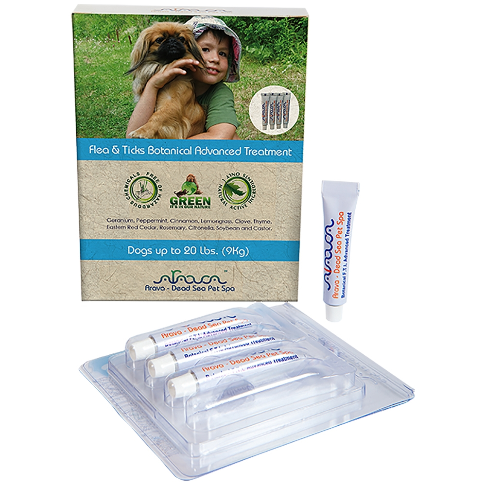 Arava Dog Spot-on Flöhe, Zecken & Läuse bis 9 kg 4x 4ml