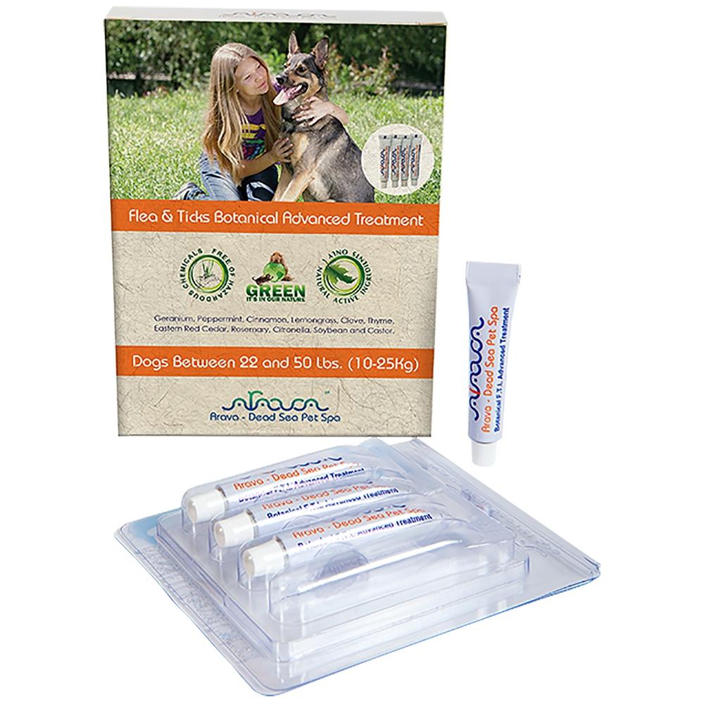 Arava Dog Spot-on Flöhe, Zecken & Läuse 10-25 kg 4x 6ml