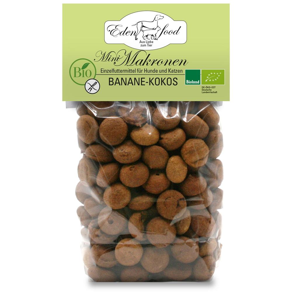 Edenfood Mini Bio-Makronen Leckerli Banane & Kokos 100g