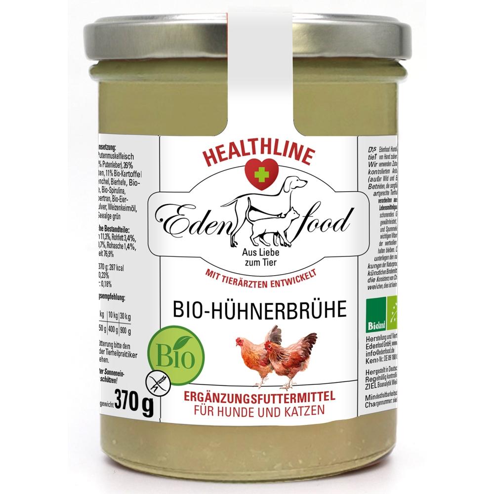 Edenfood Healthline 100% Bio-Hühnerbrühe 370g