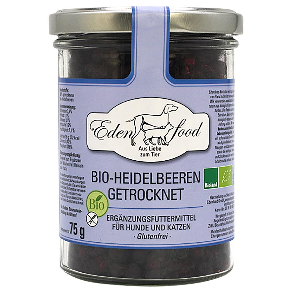 Edenfood 100% Bio-Heidelbeeren getrocknet 75g