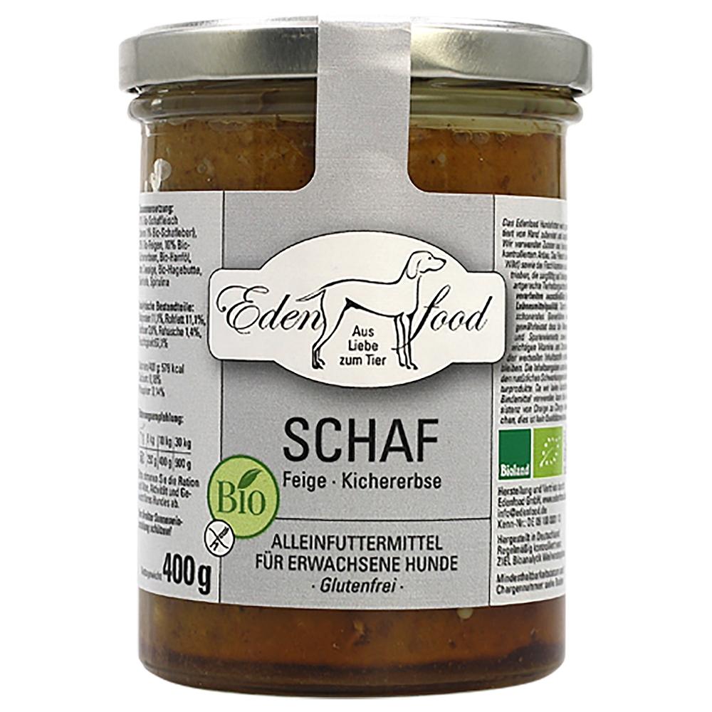 Edenfood Dog Bio-Menü Schaf, Feigen & Kichererbsen