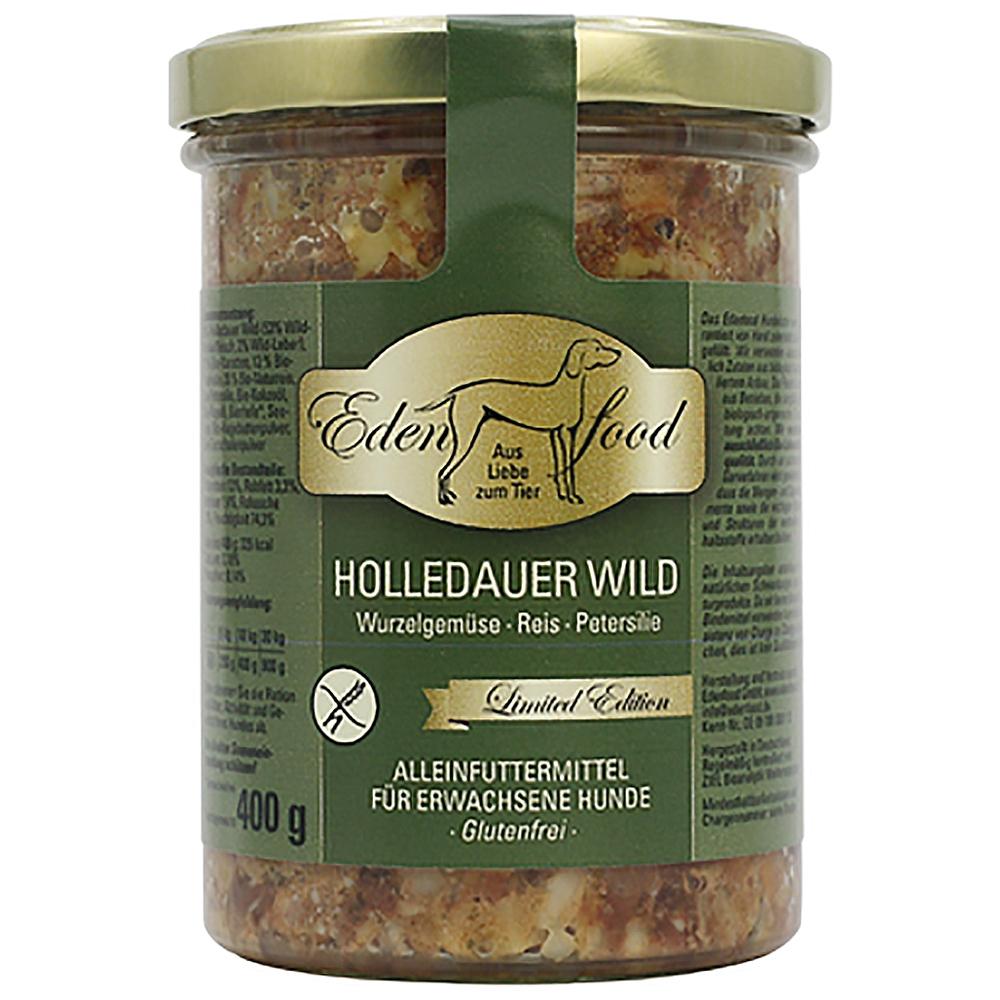 Edenfood Dog Limited Edition Holledauer Wild, Karotte & Pastinake 400g