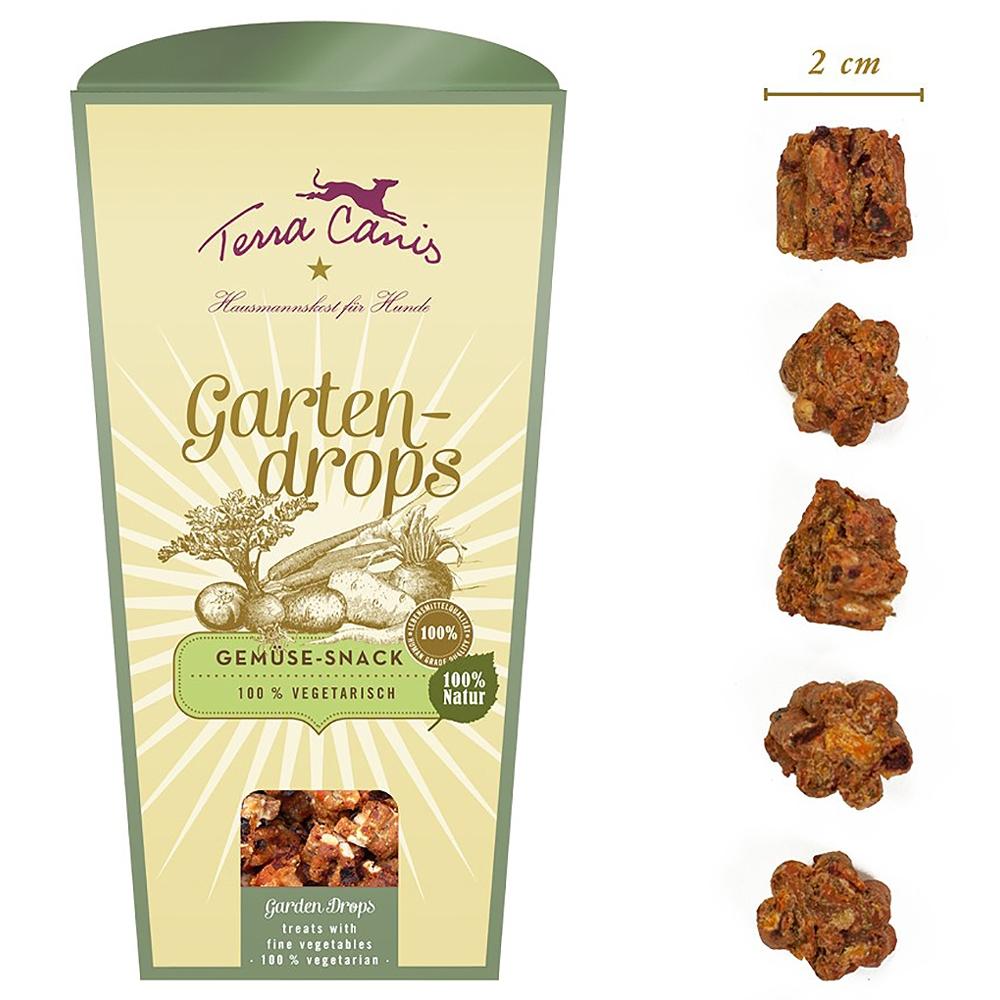 Terra Canis Gartendrops Gemüse-Snack 250g