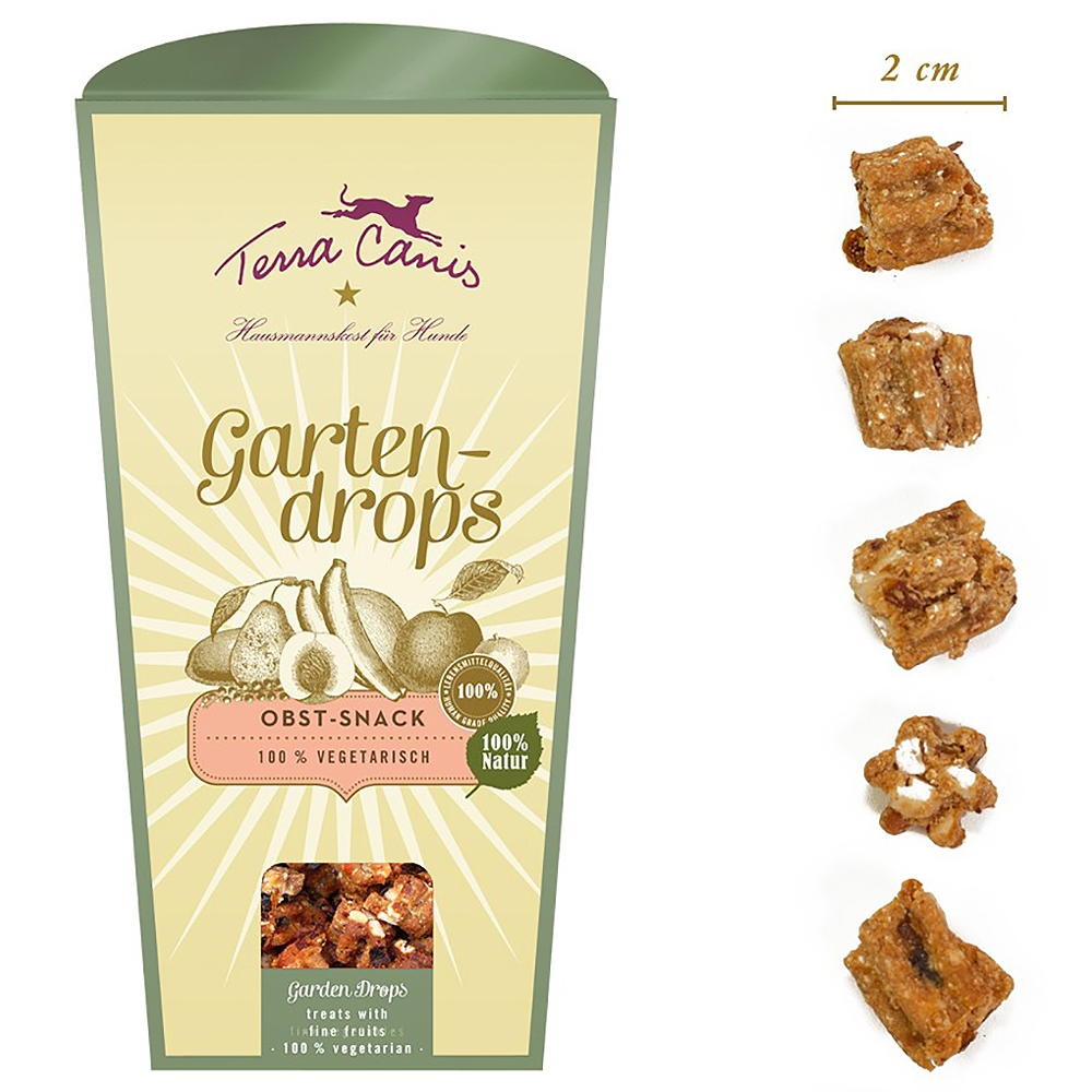 Terra Canis Gartendrops Obst-Snack 250g