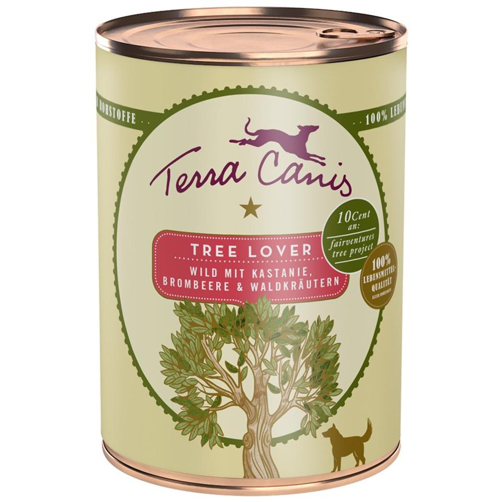 """Terra Canis """"Save the Planet"""" Tree Lover Wild mit Kastanie, Brombeere & Waldkräutern 400g"""