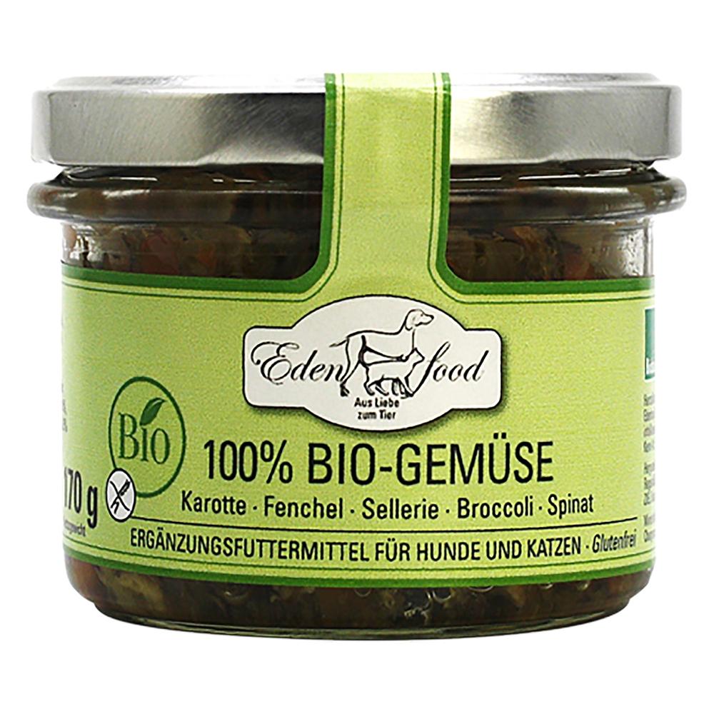 Edenfood 100% Bio-Gemüse Karotte, Fenchel, Sellerie, Brokkoli & Spinat