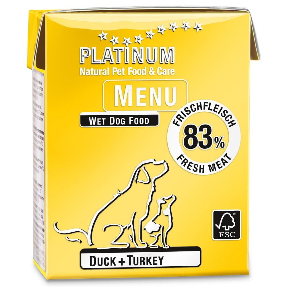 Platinum Menu Duck + Turkey 375g