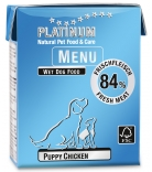 Platinum Menu Puppy 375g