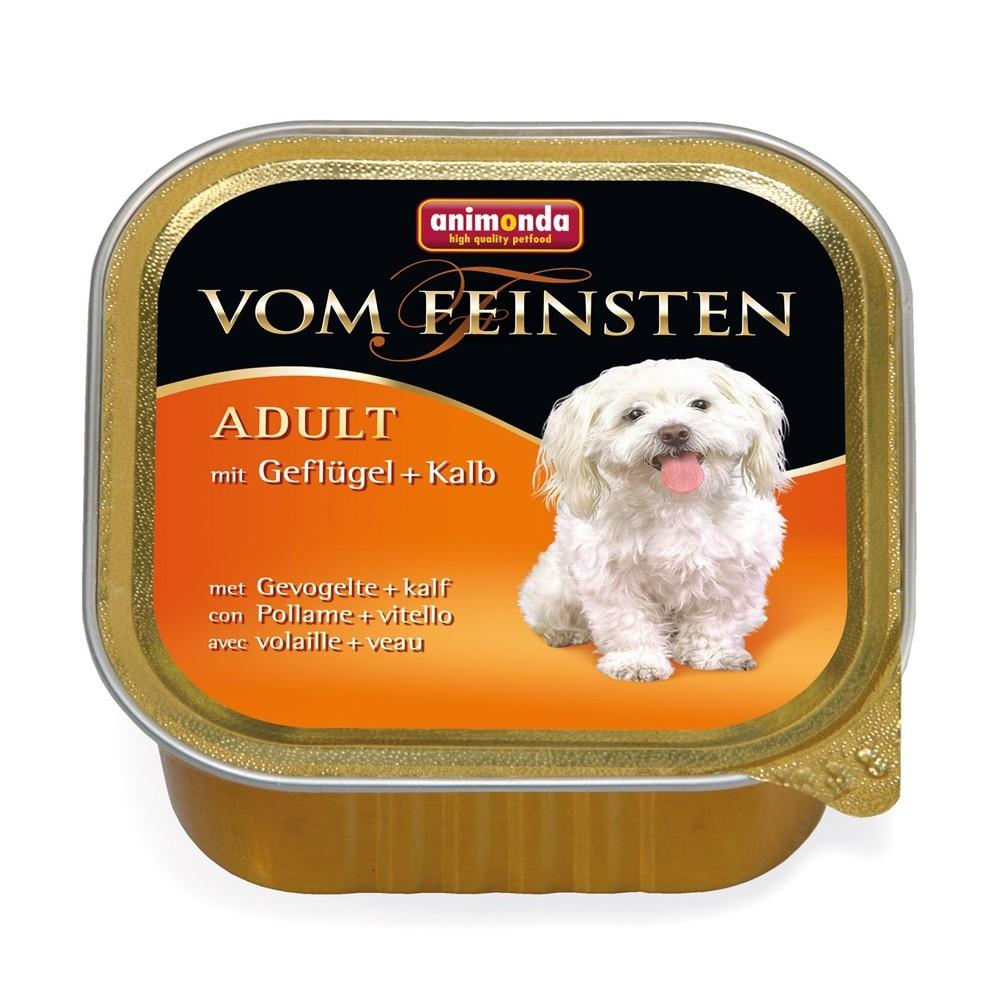 Animonda Dog Vom Feinsten Adult Classic Geflügel & Kalb 150 g