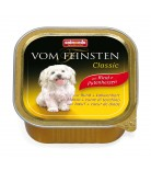 Animonda Dog Vom Feinsten Adult Classic Rind & Putenherzen 150g