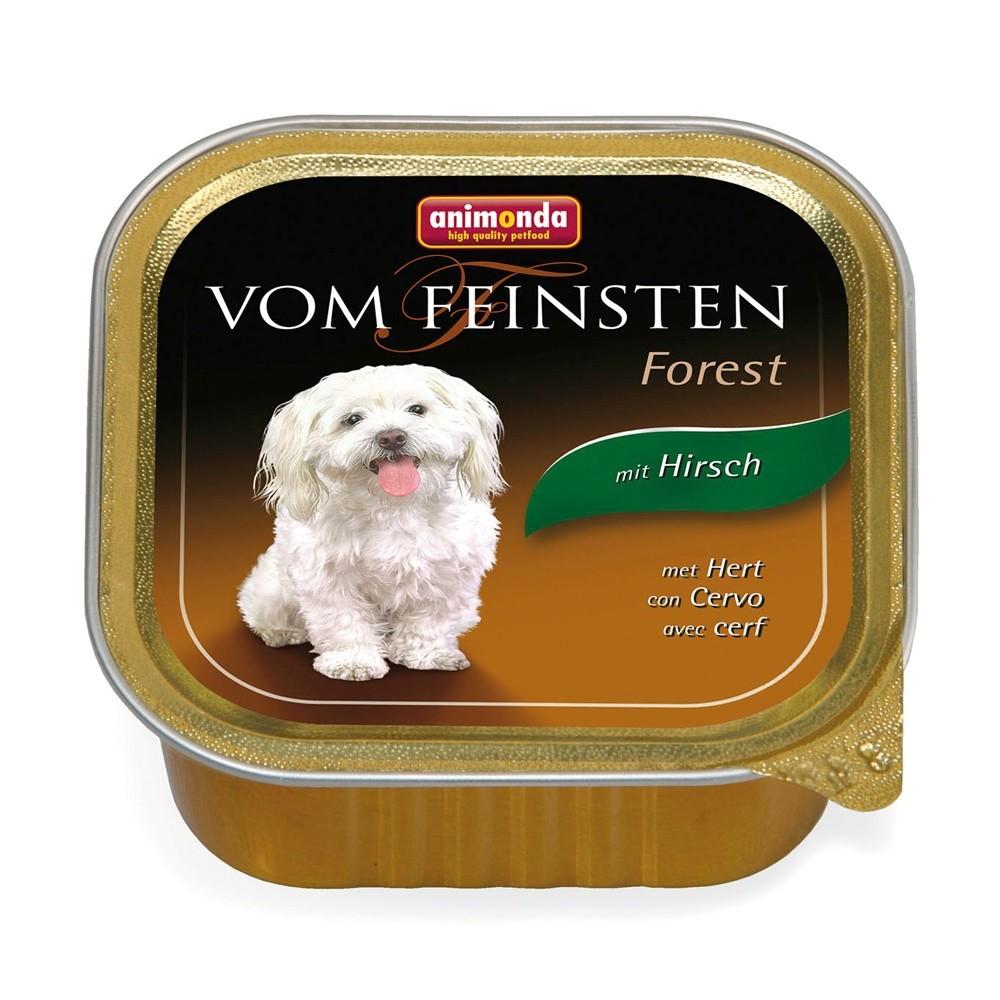 Animonda Dog Vom Feinsten Adult Forest Hirsch 150g
