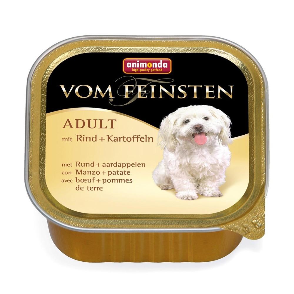 Animonda Dog Vom Feinsten Adult Menue Rind & Kartoffeln 150 g