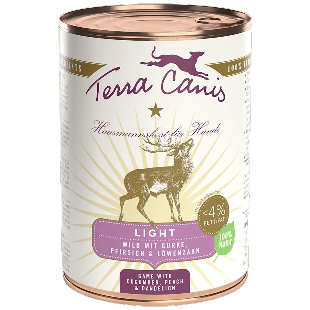 Terra Canis Light Wild, Gurke, Pfirsich & Löwenzahn 400g