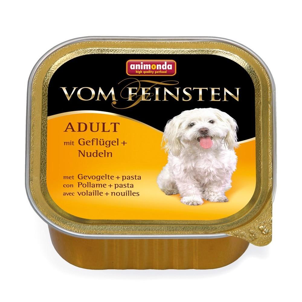 Animonda Dog Vom Feinsten Adult Menue Geflügel & Nudeln 150 g
