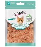 Dokas Cat Mini-Steaks Lachs & Kabeljau 25g