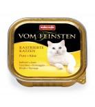 Animonda Cat Vom Feinsten Adult Kastrierte Katzen Pute & Käse 100g