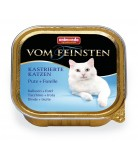 Animonda Cat Vom Feinsten Adult Kastrierte Katzen Pute & Forelle 100g