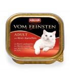Animonda Cat Vom Feinsten Adult Menue Rind & Kartoffeln 100g
