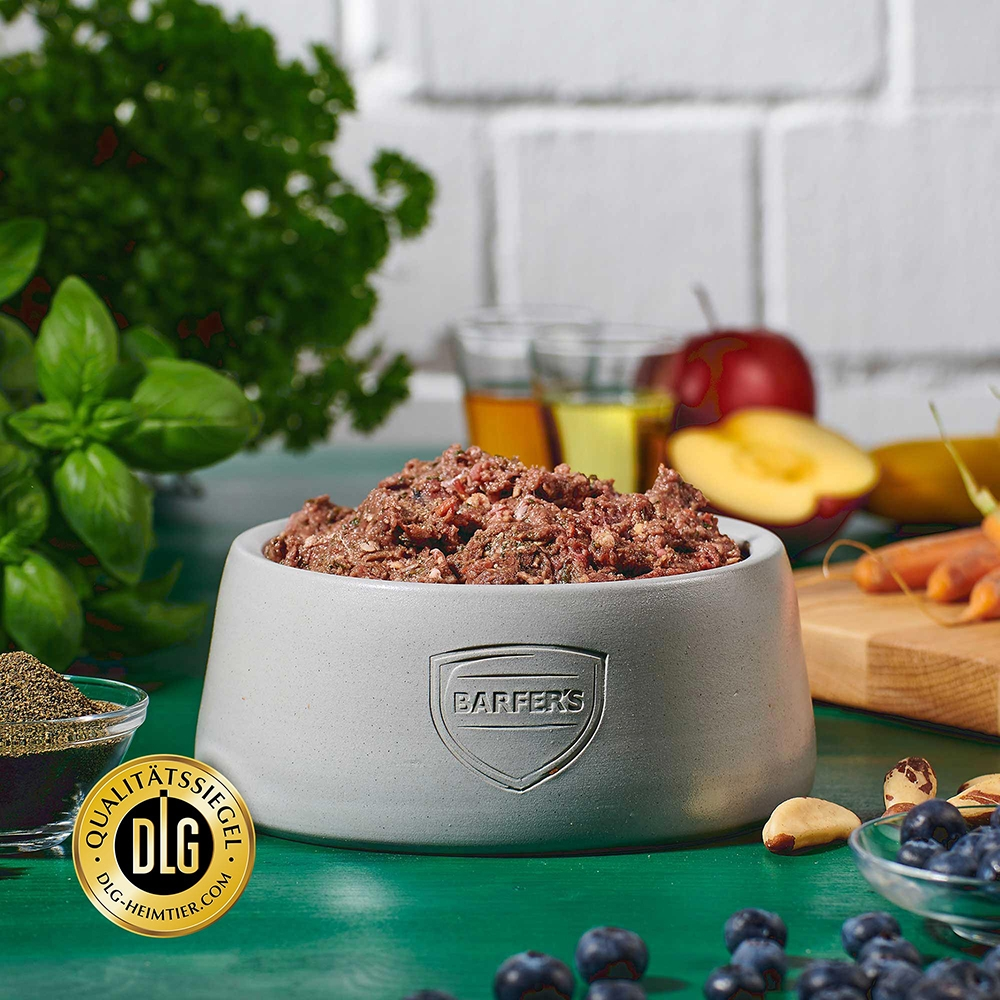 Barfer's Wellfood Complete Komplett-Mix Adult Pferd gewolft 500g
