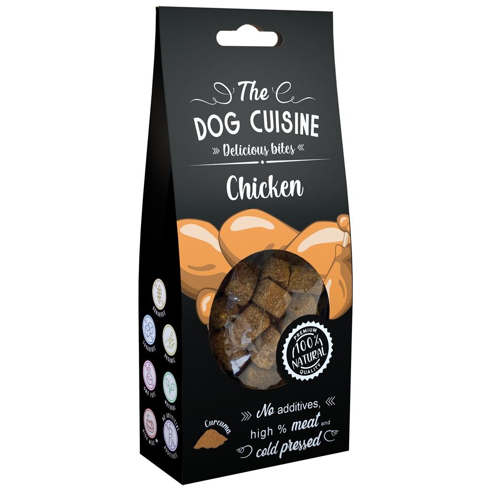 Global Pet Brands The Dog Cuisine Delicious Bites Huhn & Kurkuma 100g