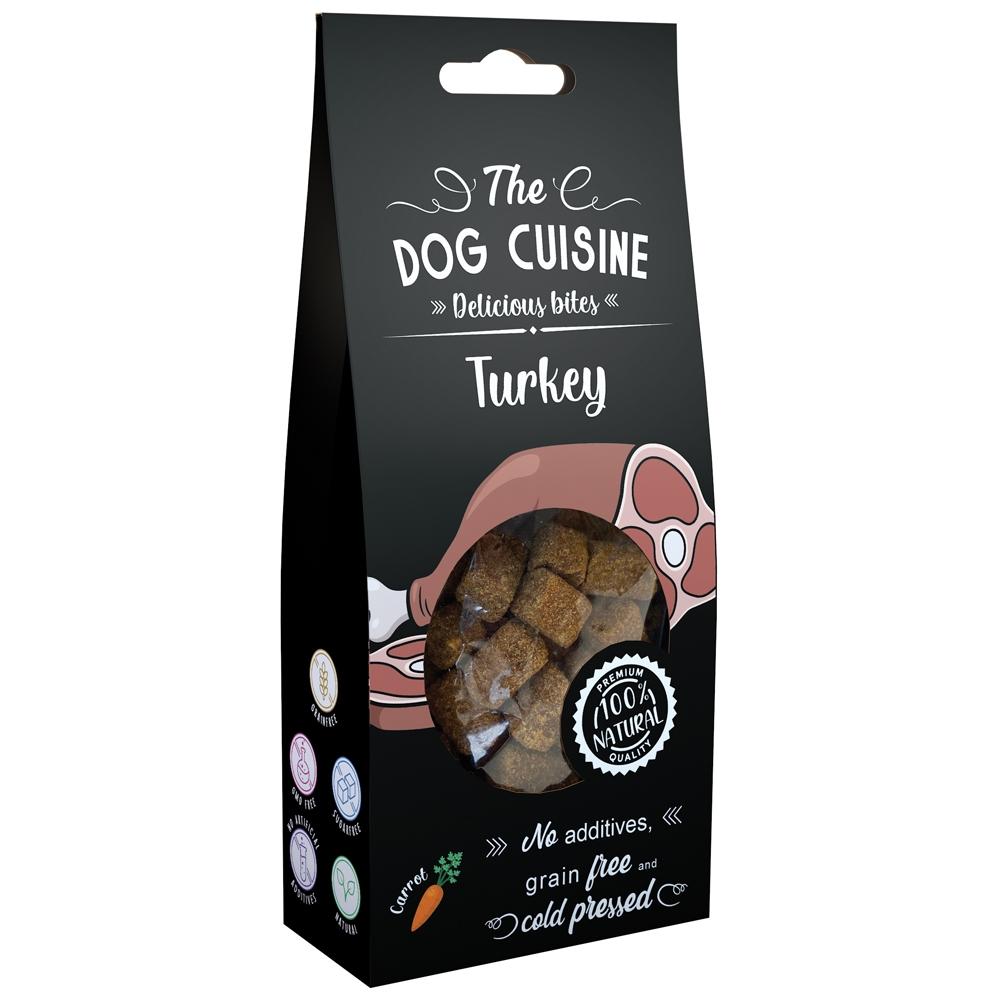 Global Pet Brands The Dog Cuisine Delicious Bites Truthahn & Kürbis 100g