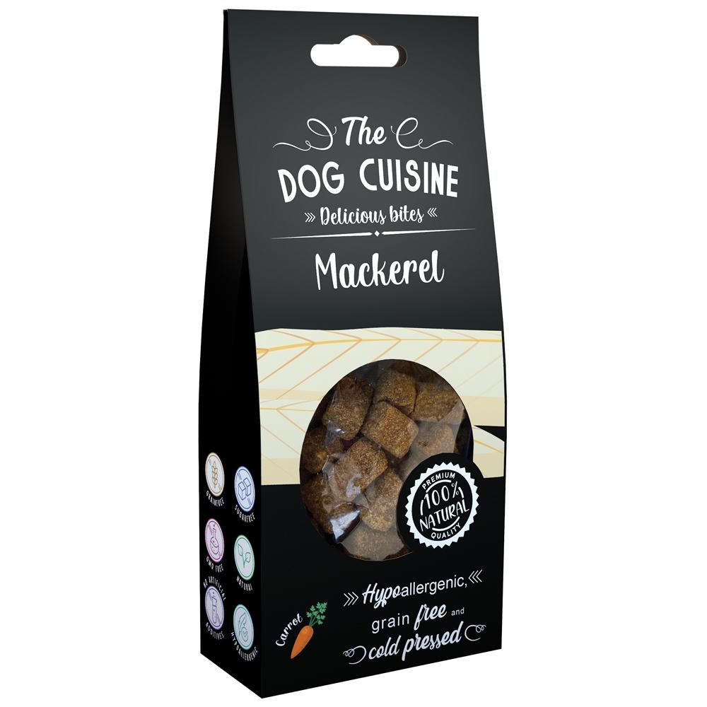 Global Pet Brands The Dog Cuisine Delicious Bites Makrele & Karotte 100g