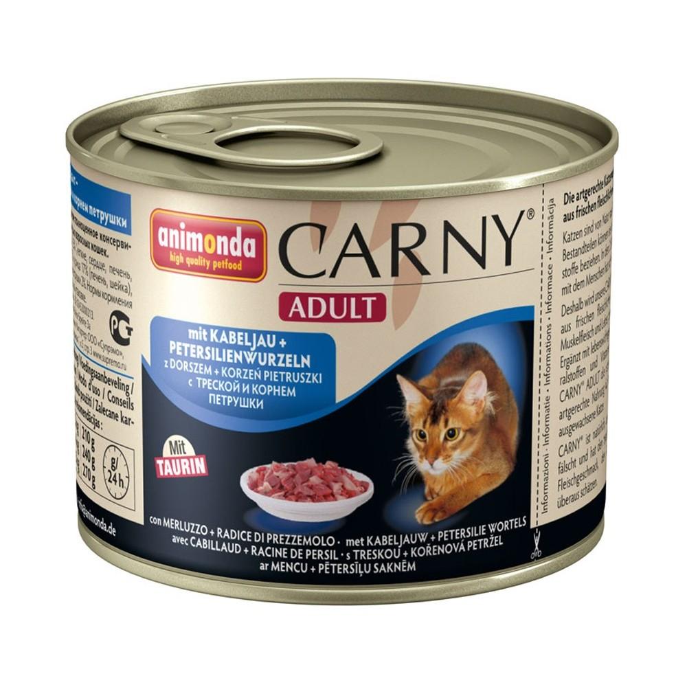 Animonda Carny Adult Rind, Kabeljau & Petersilienwurzel