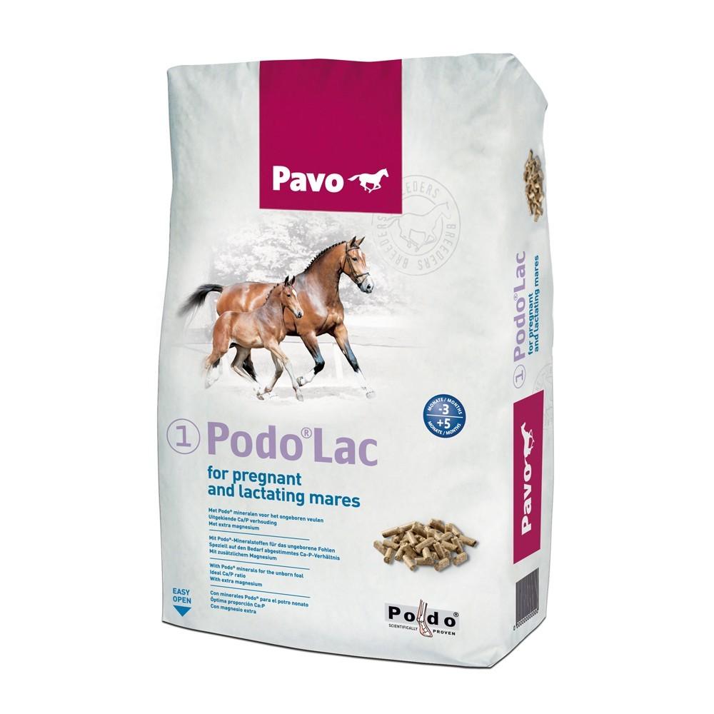 Pavo Zucht Podo Lac 20 kg