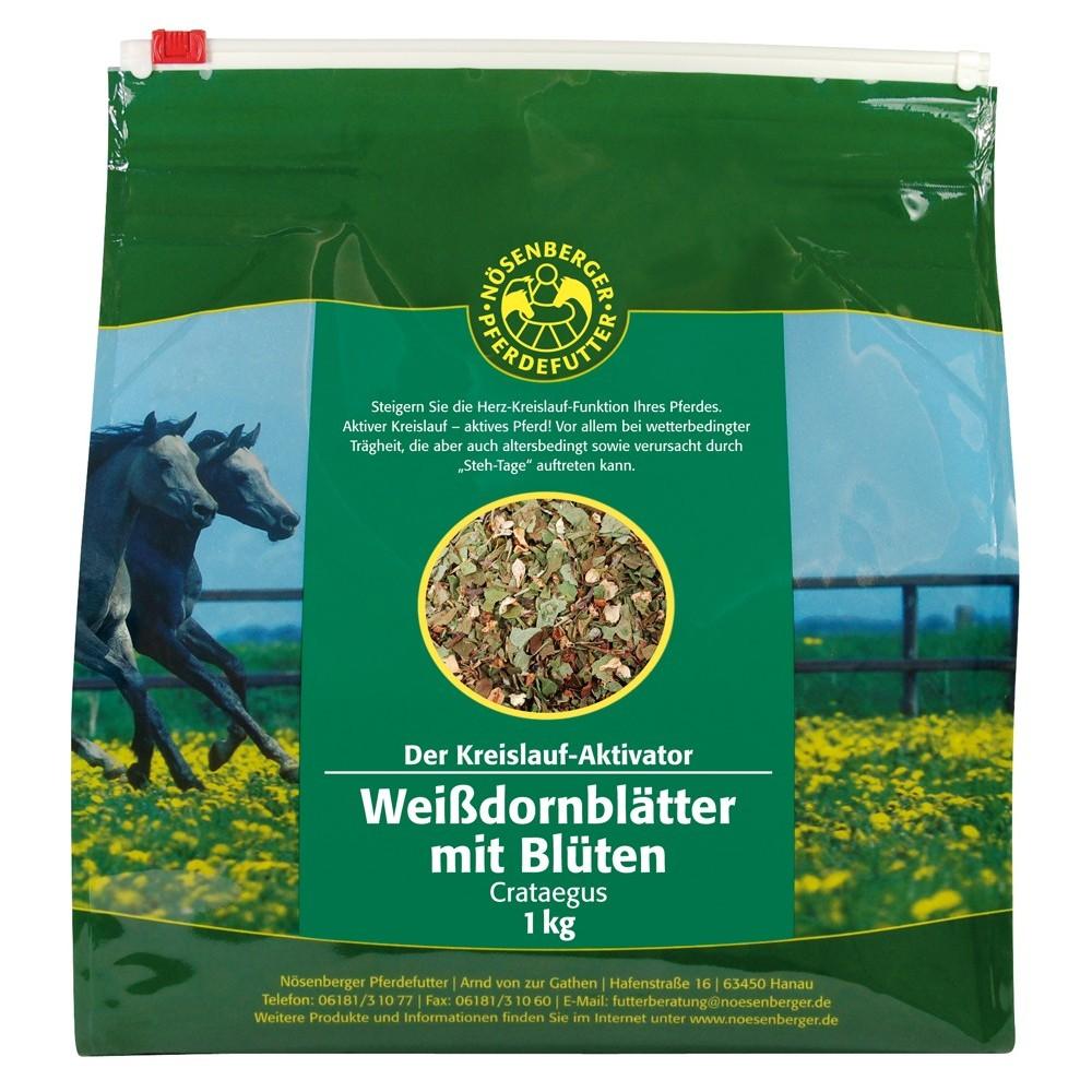 Nösenberger Kräuter & Co. Weissdornblätter mit Blüten 1 kg