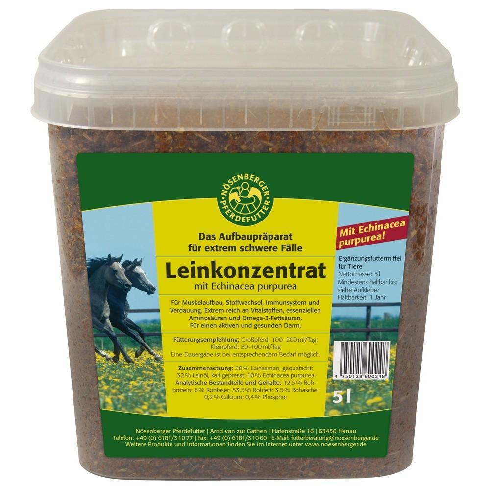 Nösenberger Leinsamenprodukte Leinkonzentrat mit Echinacea purpurea 5 L