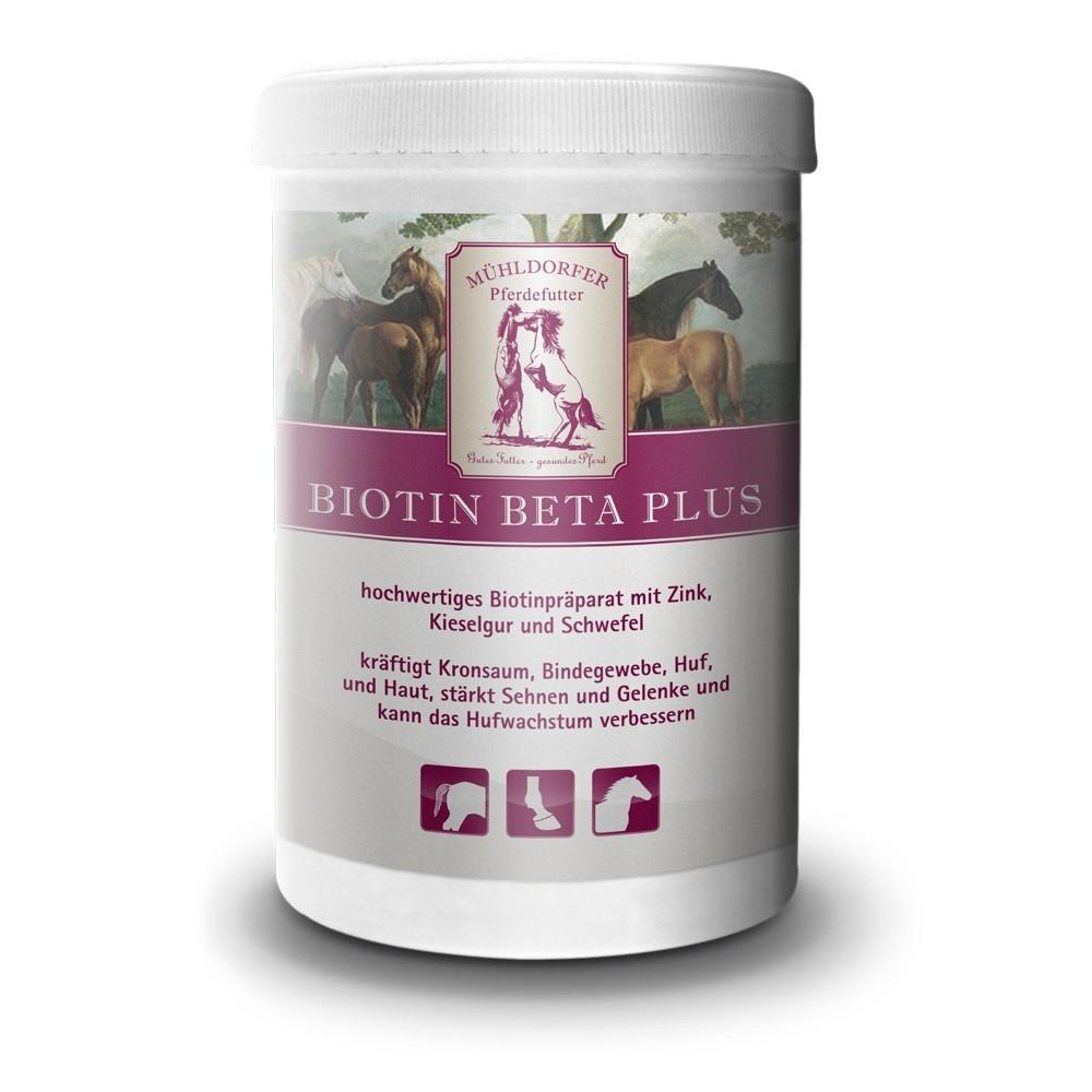 Mühldorfer Supplemente Biotin Beta Plus
