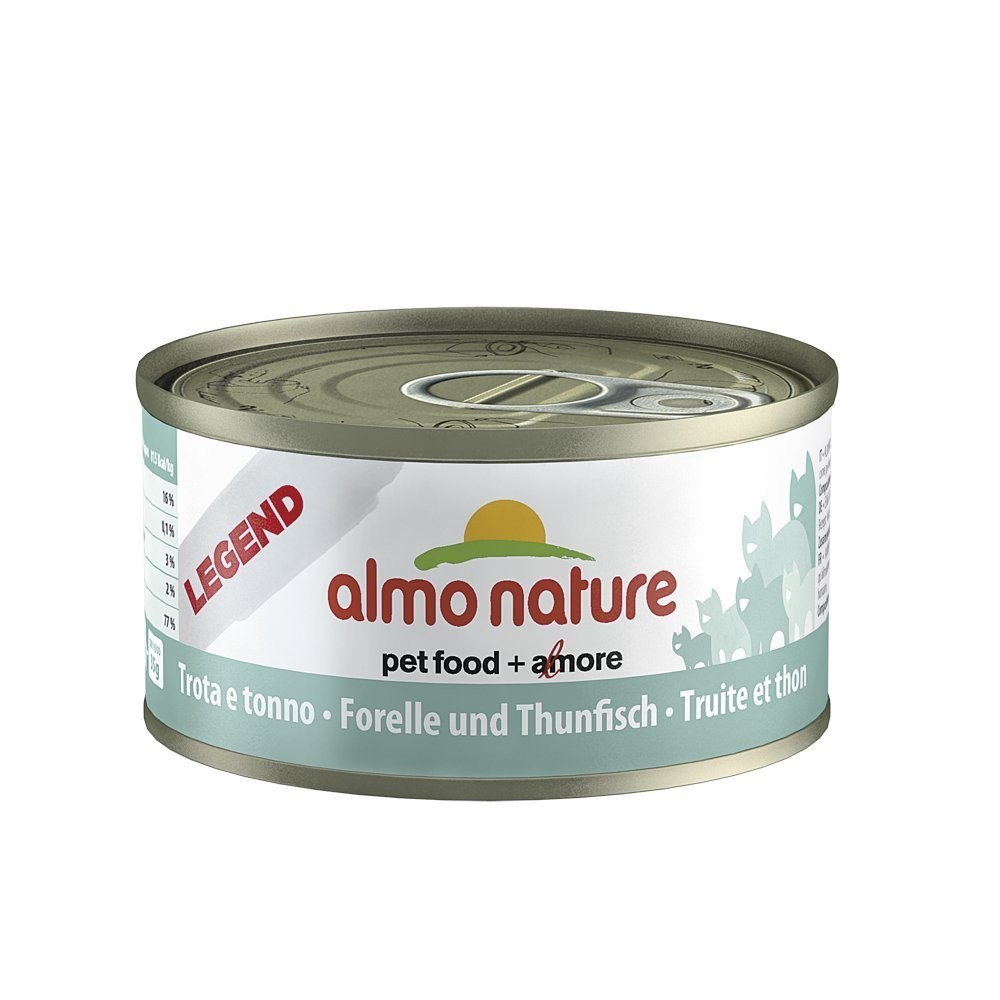 Almo Nature Cat Adult Forelle & Thunfisch 70 g