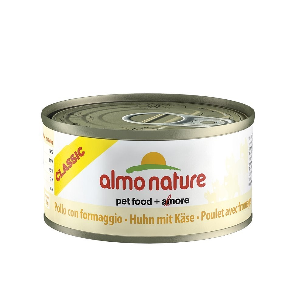 Almo Nature Cat Adult Huhn & Käse 70 g