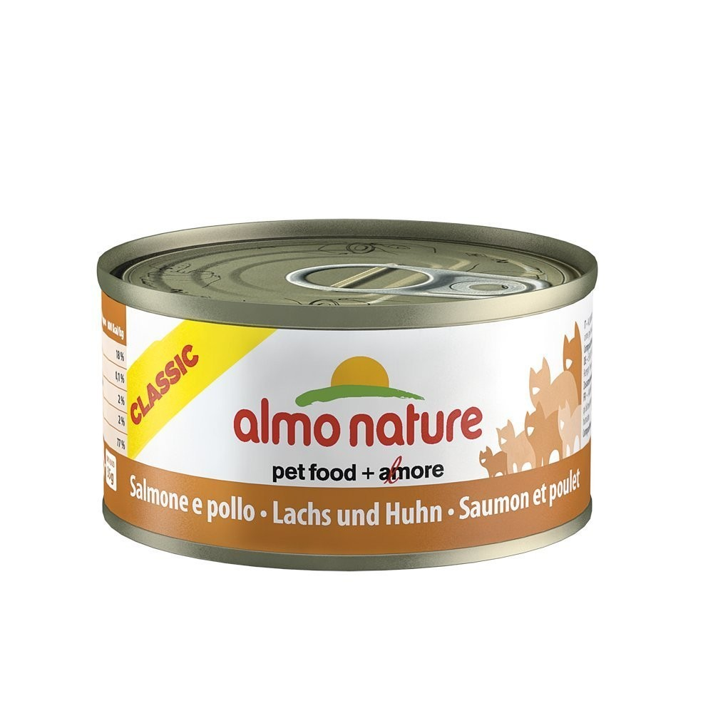 Almo Nature Cat Adult Lachs & Huhn 70 g