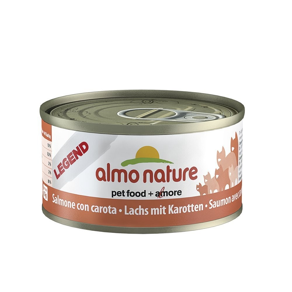 Almo Nature Cat Adult Lachs & Karotte 70 g