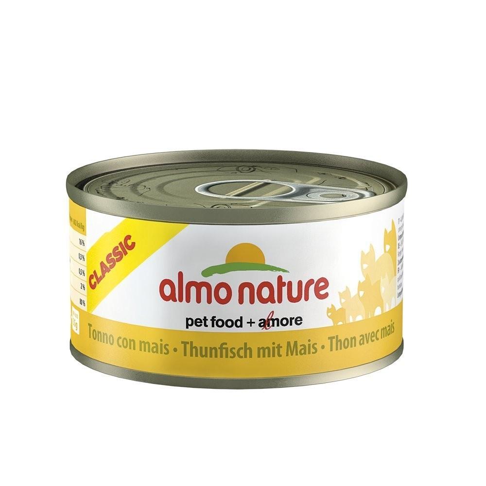Almo Nature Cat Adult Thunfisch & Mais 70 g