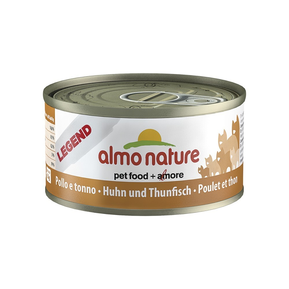 Almo Nature Cat Adult Huhn & Thunfisch 70 g