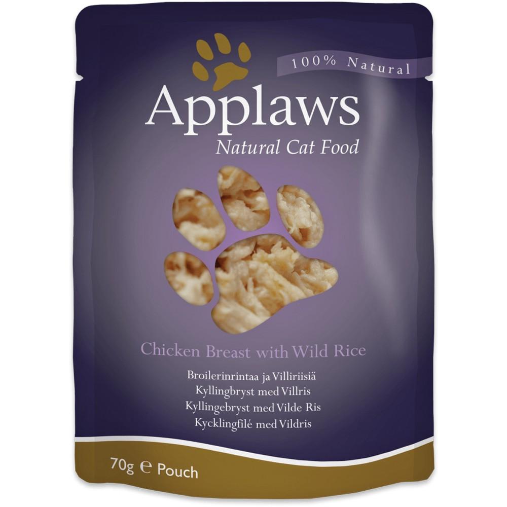 Applaws Cat Adult Hühnchenbrust & Wildreis 70 g