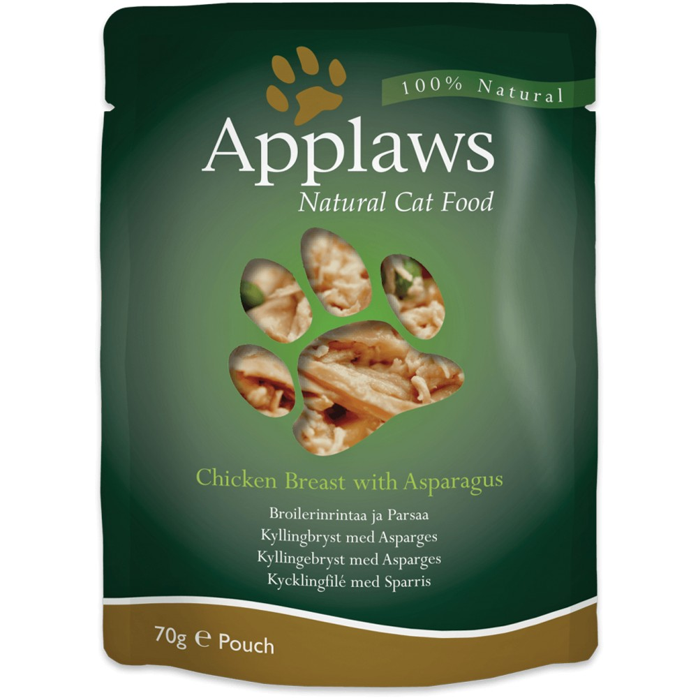 Applaws Cat Adult Hühnchenbrust & Spargel 70 g