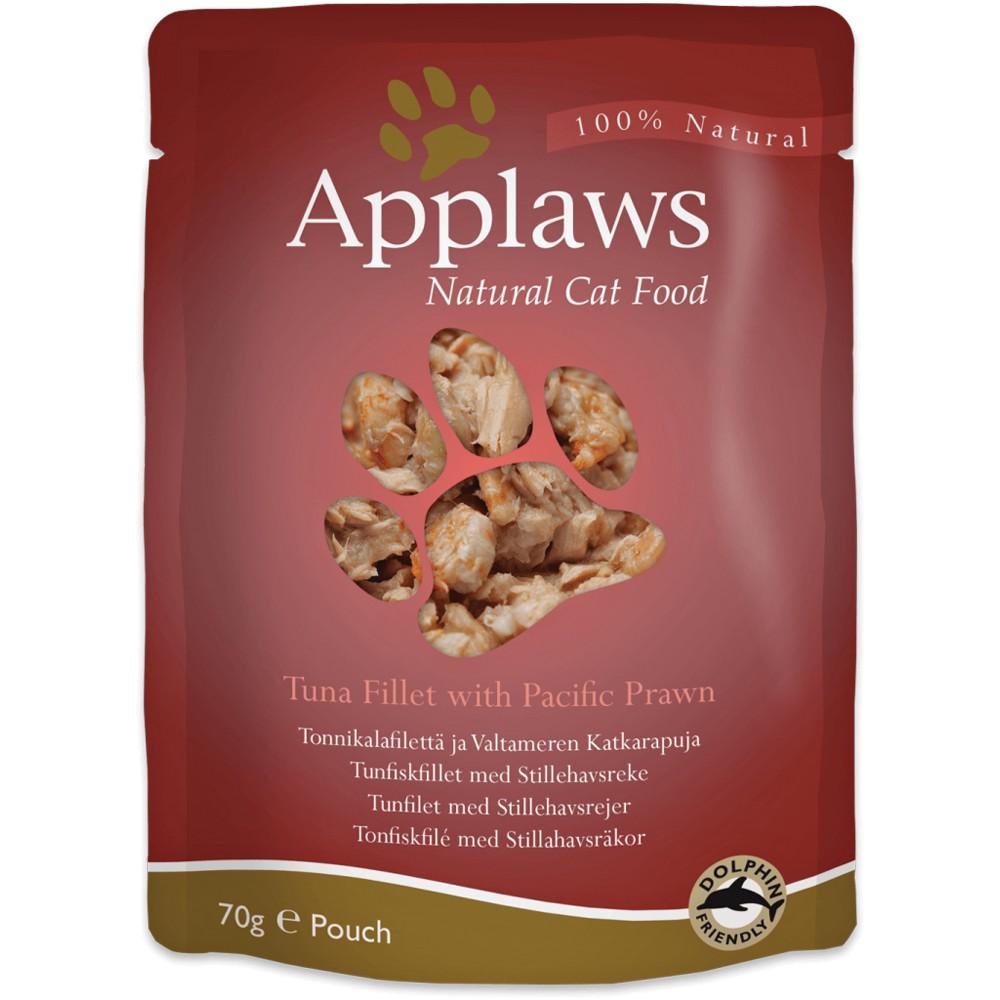 Applaws Cat Adult Thunfischfilet & Pazifikgarnelen 70 g