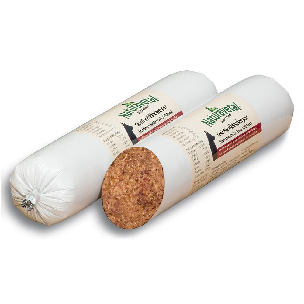 Naturavetal Canis Plus Fleisch-Rolle Hähnchen pur 500 g