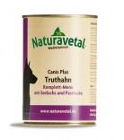 Naturavetal Canis Plus Komplettmenü Truthahn