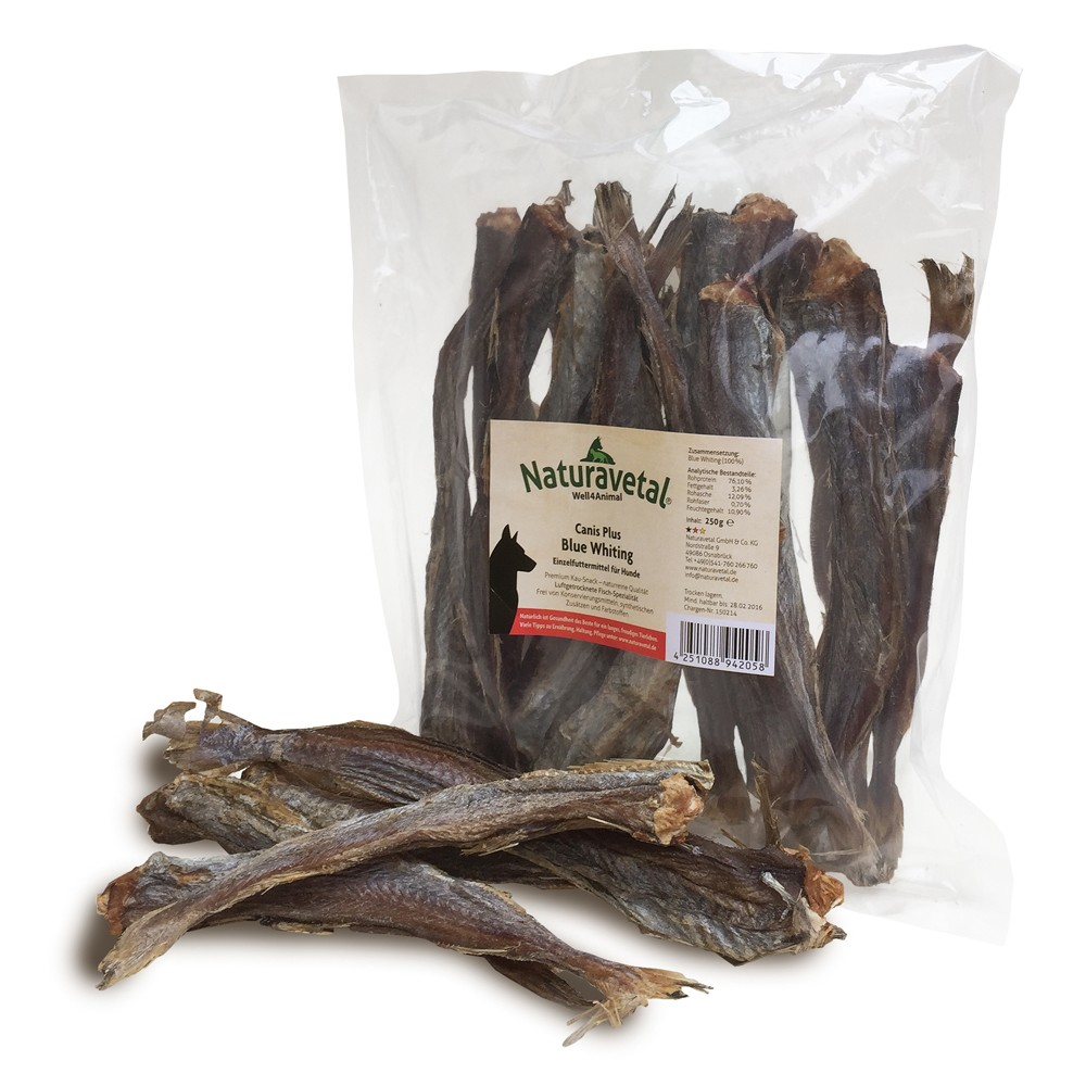 Naturavetal Canis Plus Blue Whiting 250g